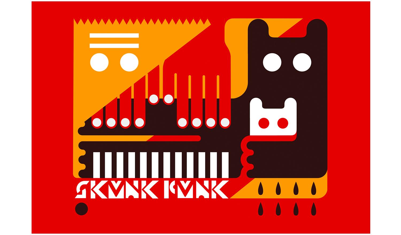 SKUNK FUNK 2010  Illustrations for the Skunk Funk 2010 collection.