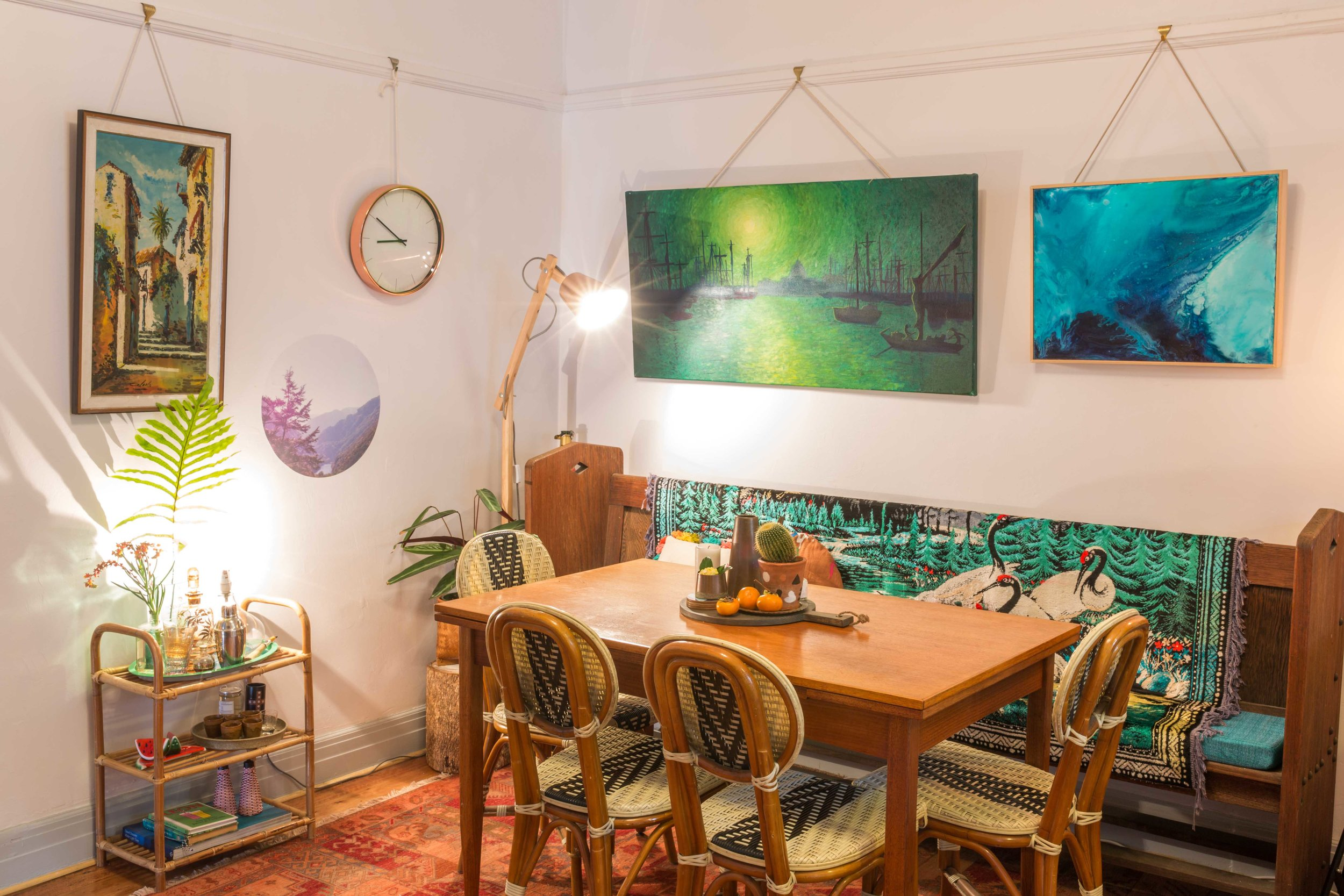 Miriam and Hamish McWilliam's home - Rented Space