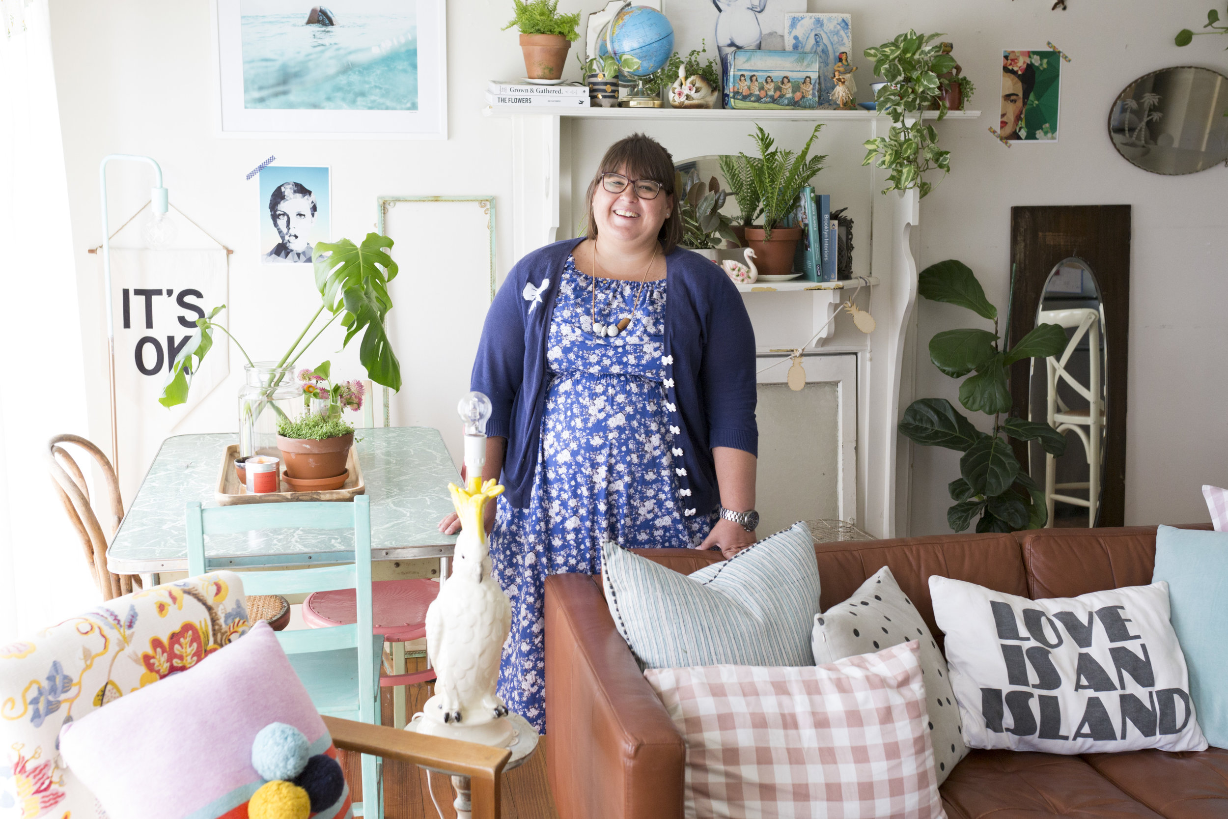 Justine Savage's Mornington home. Rented Space