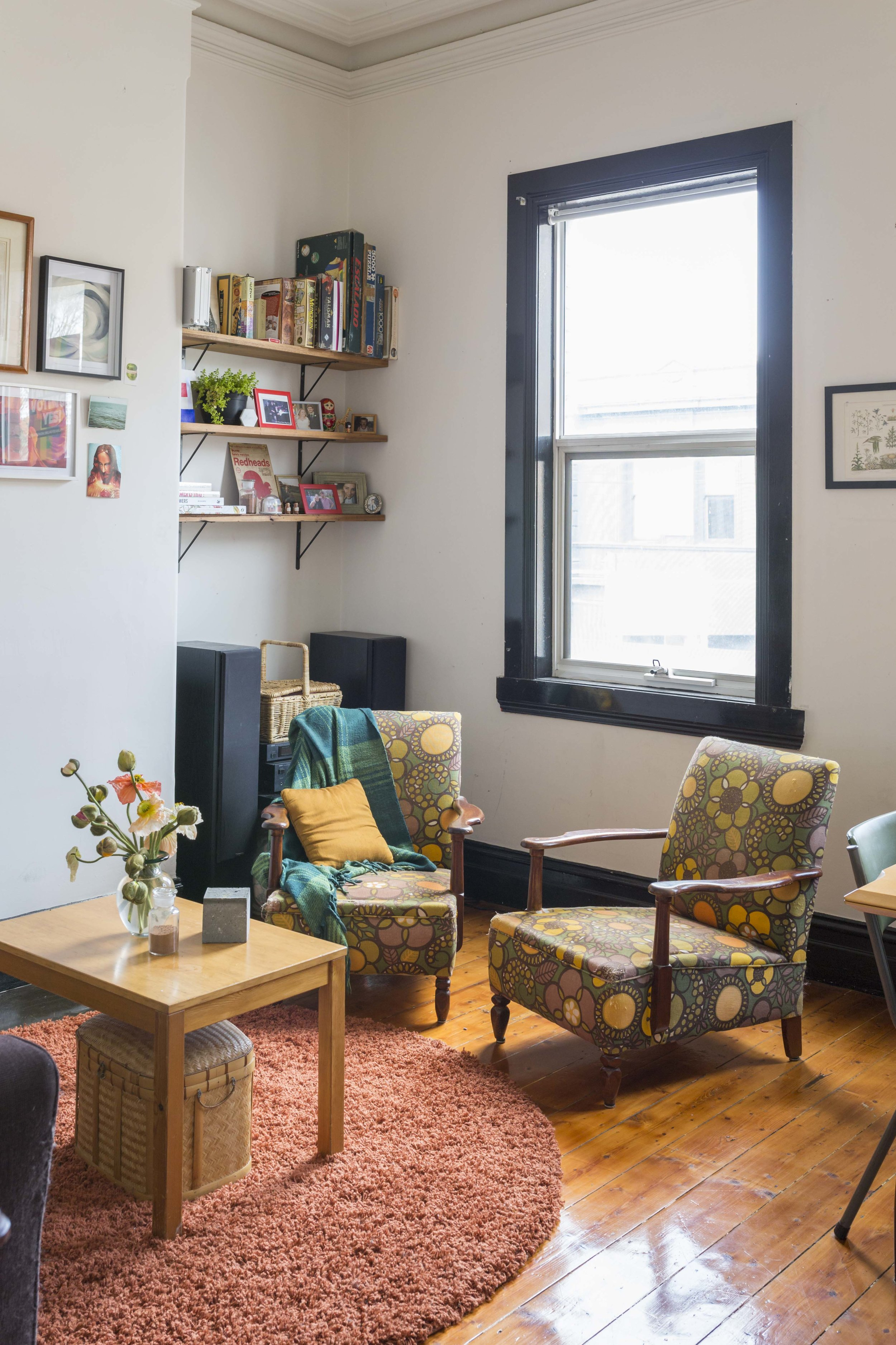 Vivien Hollingsworth and David Suter's home for Rented Space