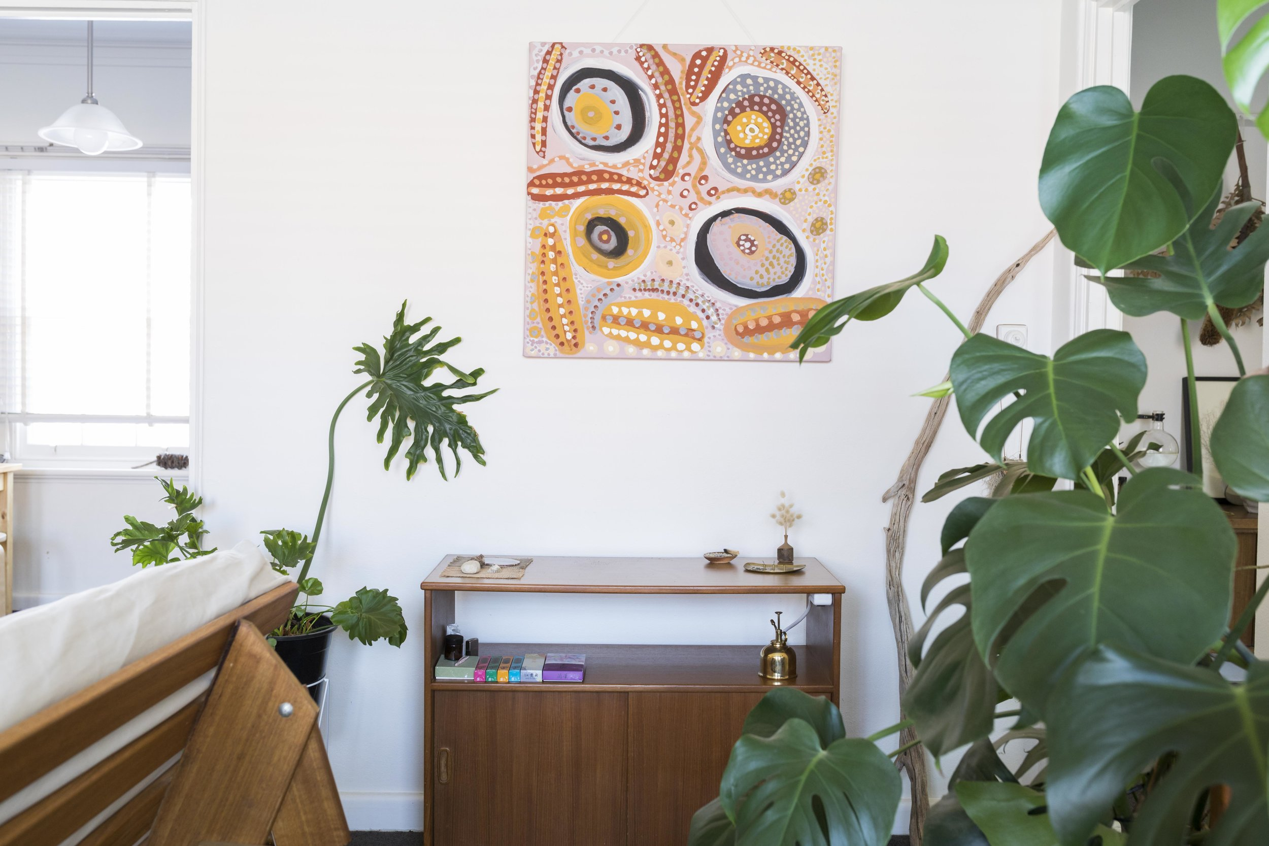 Belinda Evans' apartment in Brighton, Melbourne. Photo by Dan Soderstrom for Rented Space