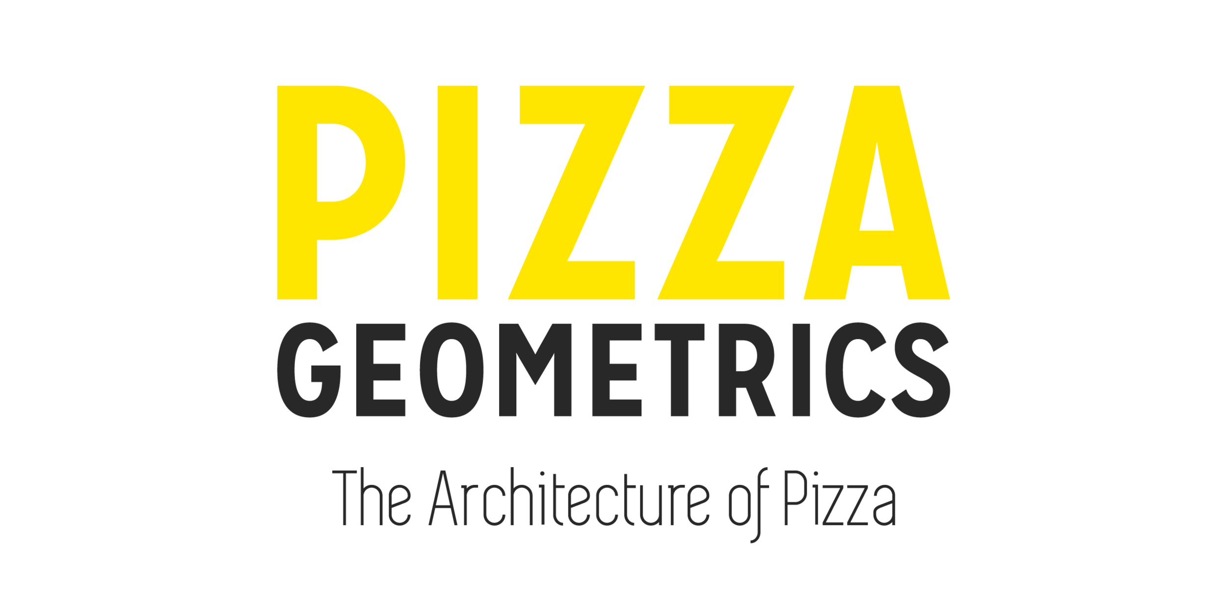 Pizza Geometrics rectangle logo