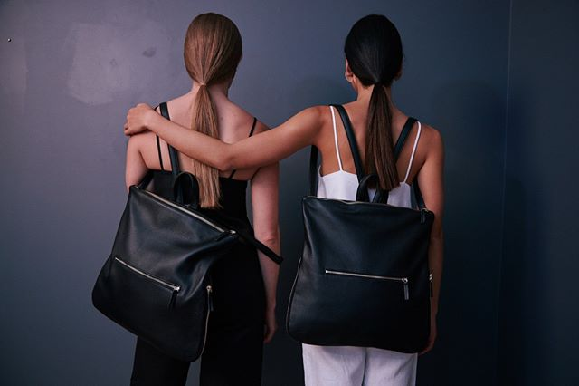Our Morgan 3 in 1 backpack is the ultimate everyday luxe companion. They will be back in black next week! We just love all the amazing feedback we get on this baby. . . . #leatherbackpack #bff #backpack #Australianmade