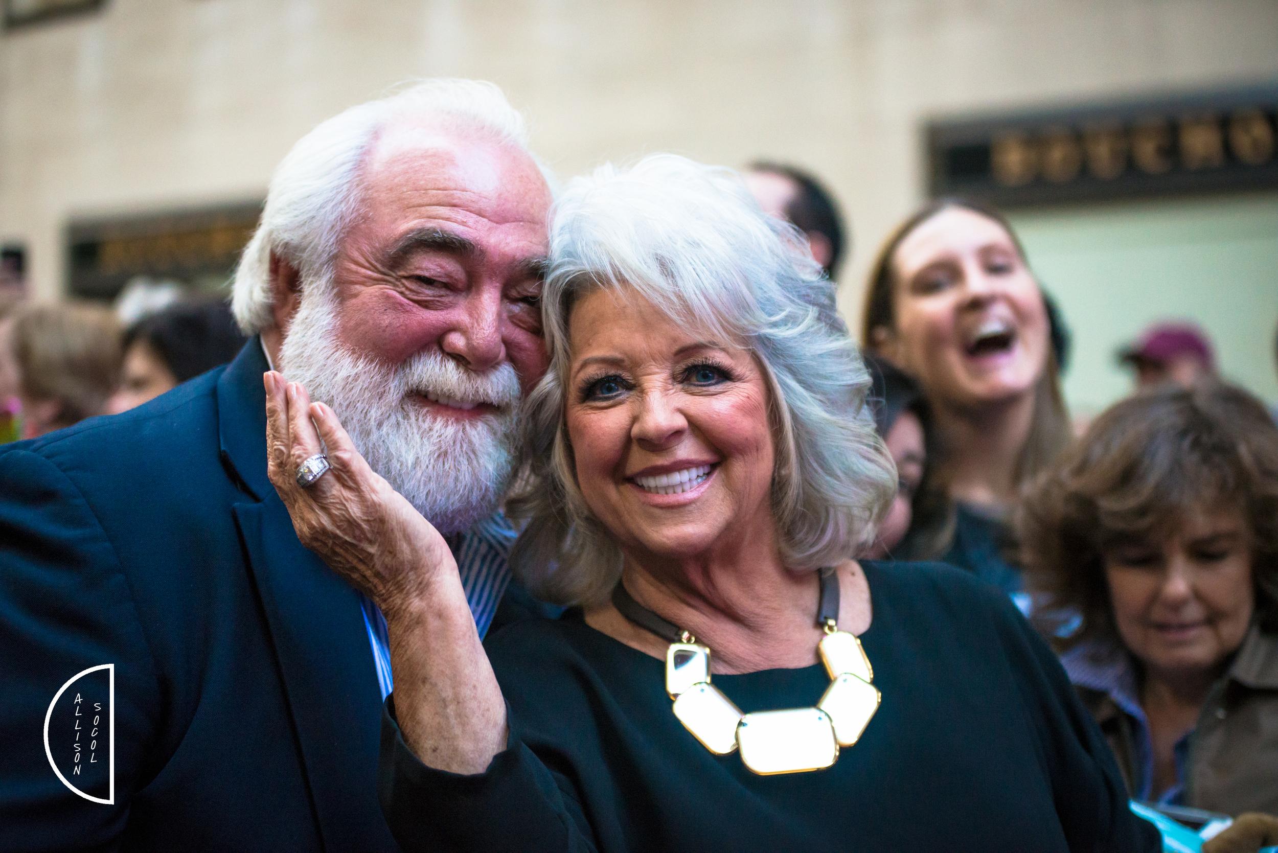 Paula Deen & Husband-Michael Groover