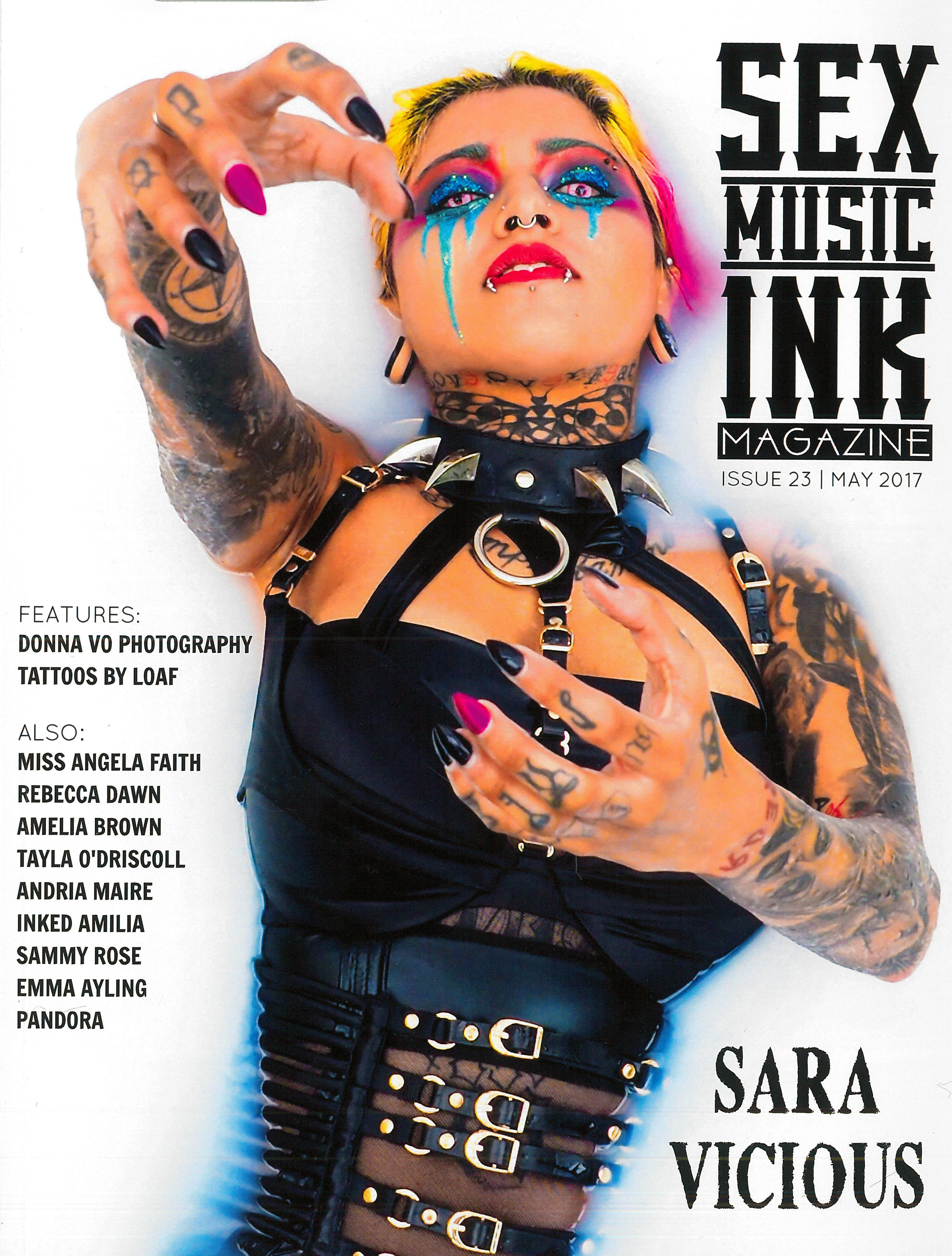 Featured in SEX MUSIC INK -