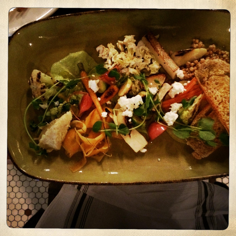 The market salad