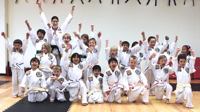 Karate Students Greensboro NC