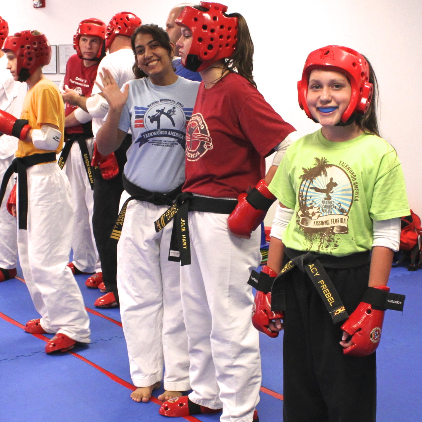 Taekwondo Students Greensboro NC
