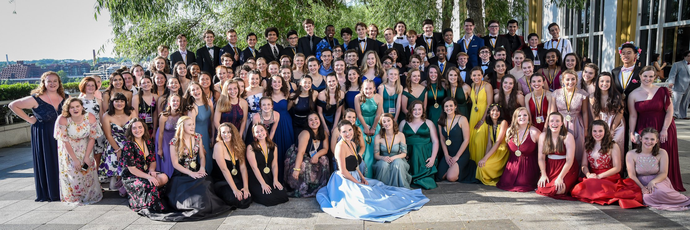 2019 CAPPIES - cast and crew of mary poppins