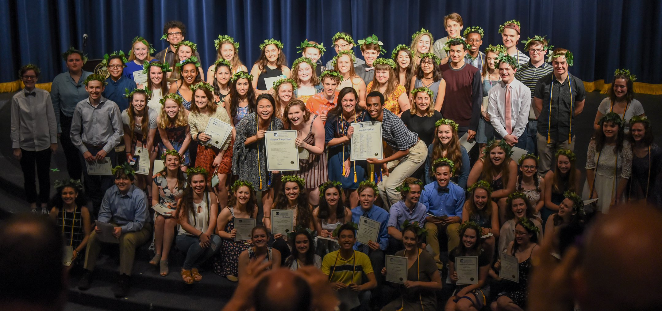 RTC troupe induction ceremony - may 2019