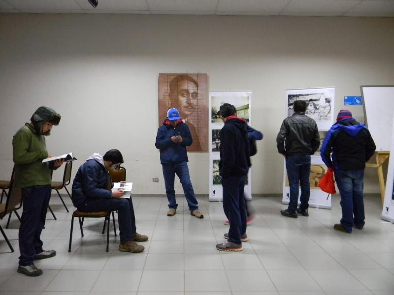 Visitantes a exposición