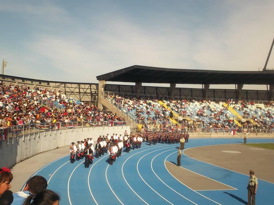 Desfile en el Estadio