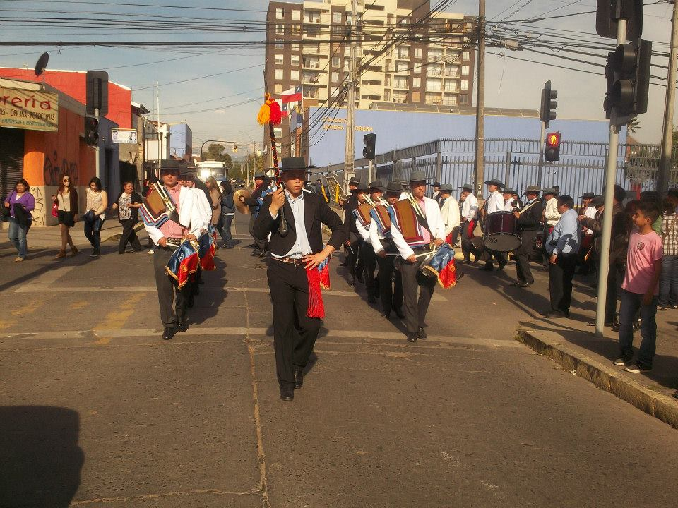 Desfile por calles de Rancagua