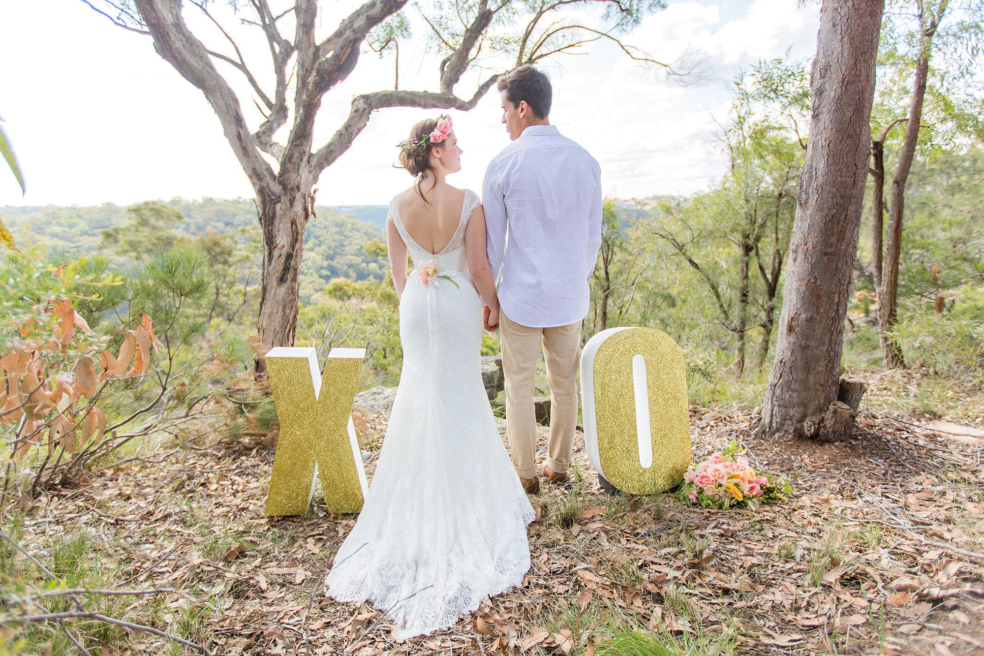 Delphina Bridal Gown by Tanya Anic   Modern Wedding Feature Blog  -Bohemian Elopement