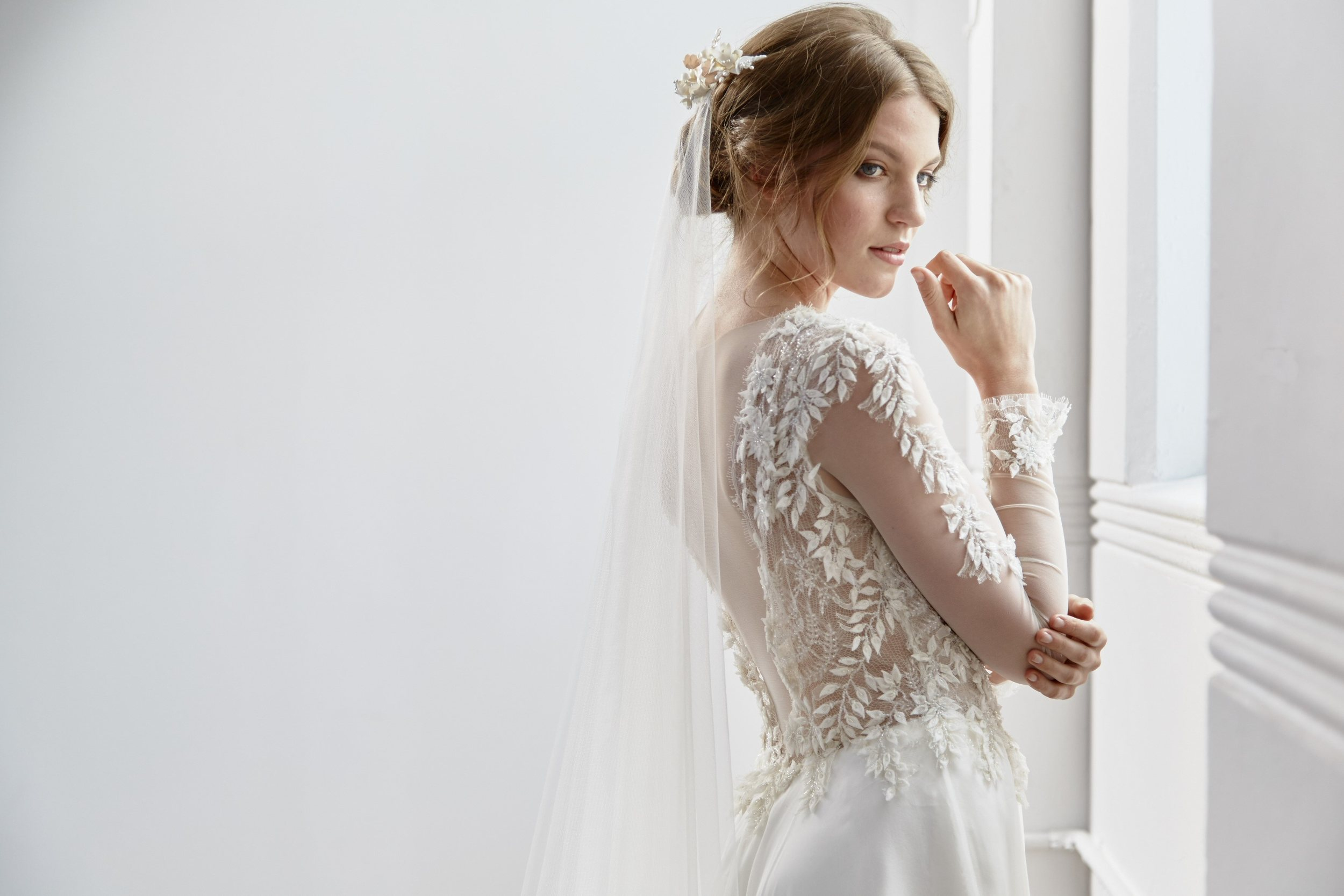 Willow bridal gown design by Tanya Anic