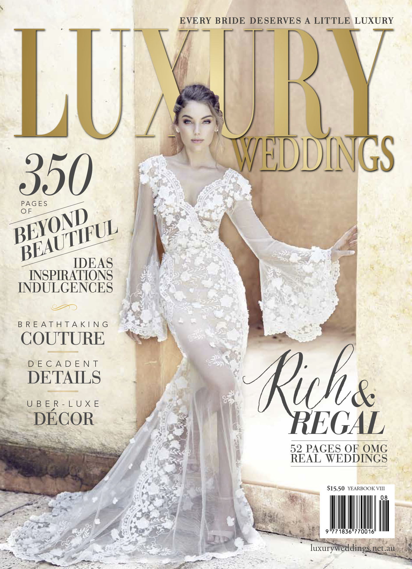 Luxury Wedding volume 8 2016 featuring tanya anic bridal.jpg