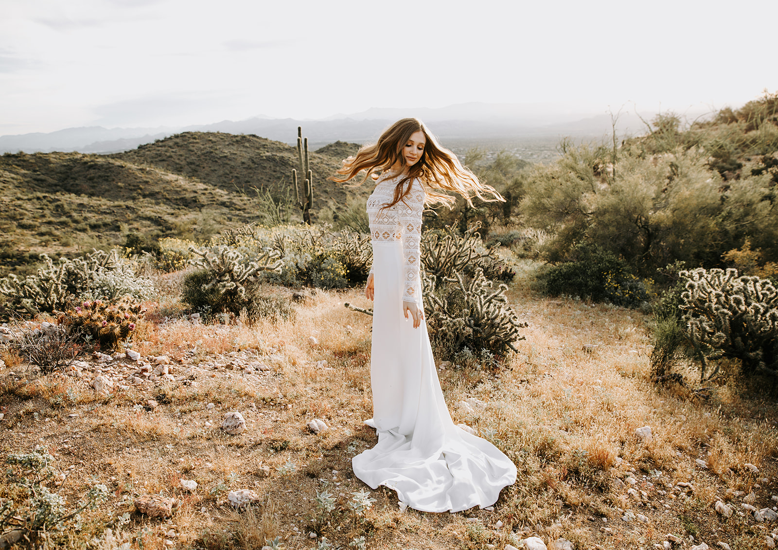 Amberly Bridal Gown by  Tanya Anic  Photo  Solandra Helg