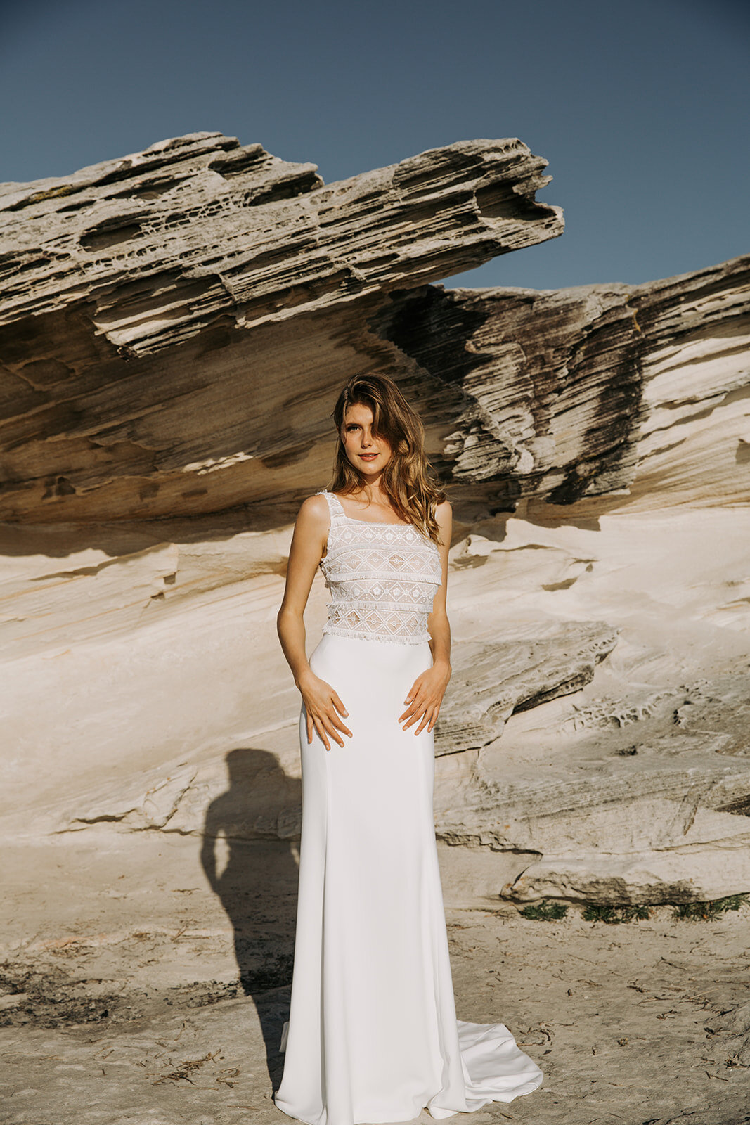 Amber Wedding dress by Tanya Anic designed and made in
