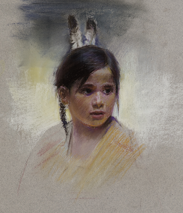 Native American Girl No. 1