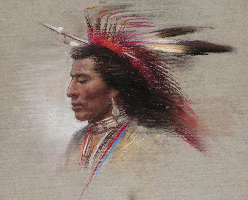 Native American Male No. 1