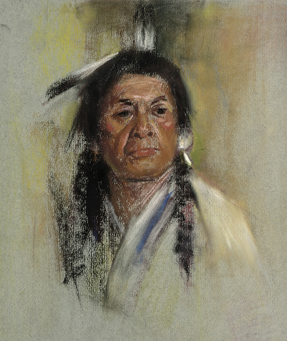 Native American Male No. 6