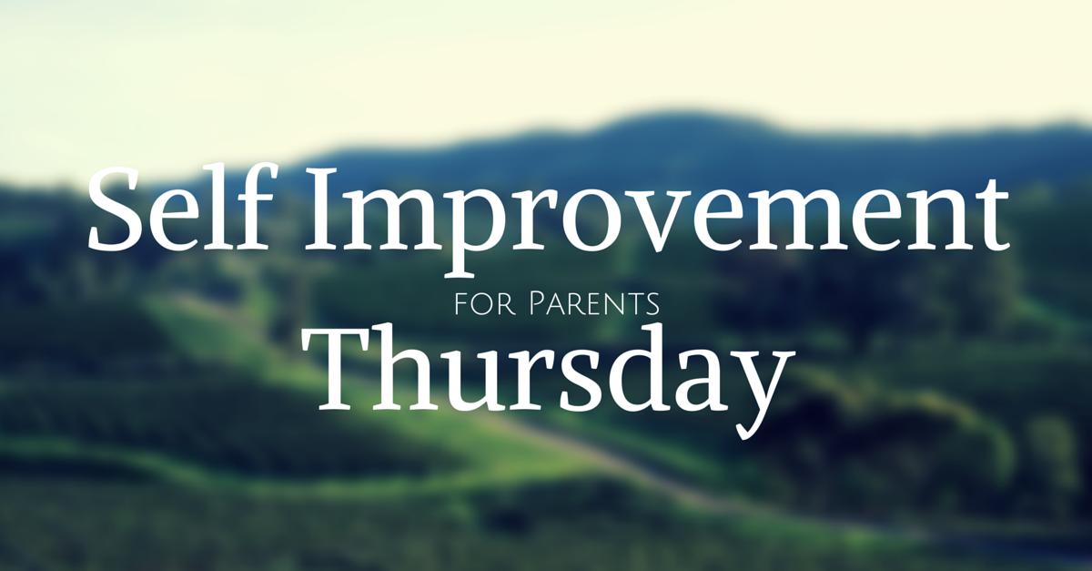 self improvement for parents