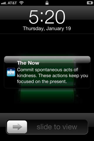 the now mindfulness app