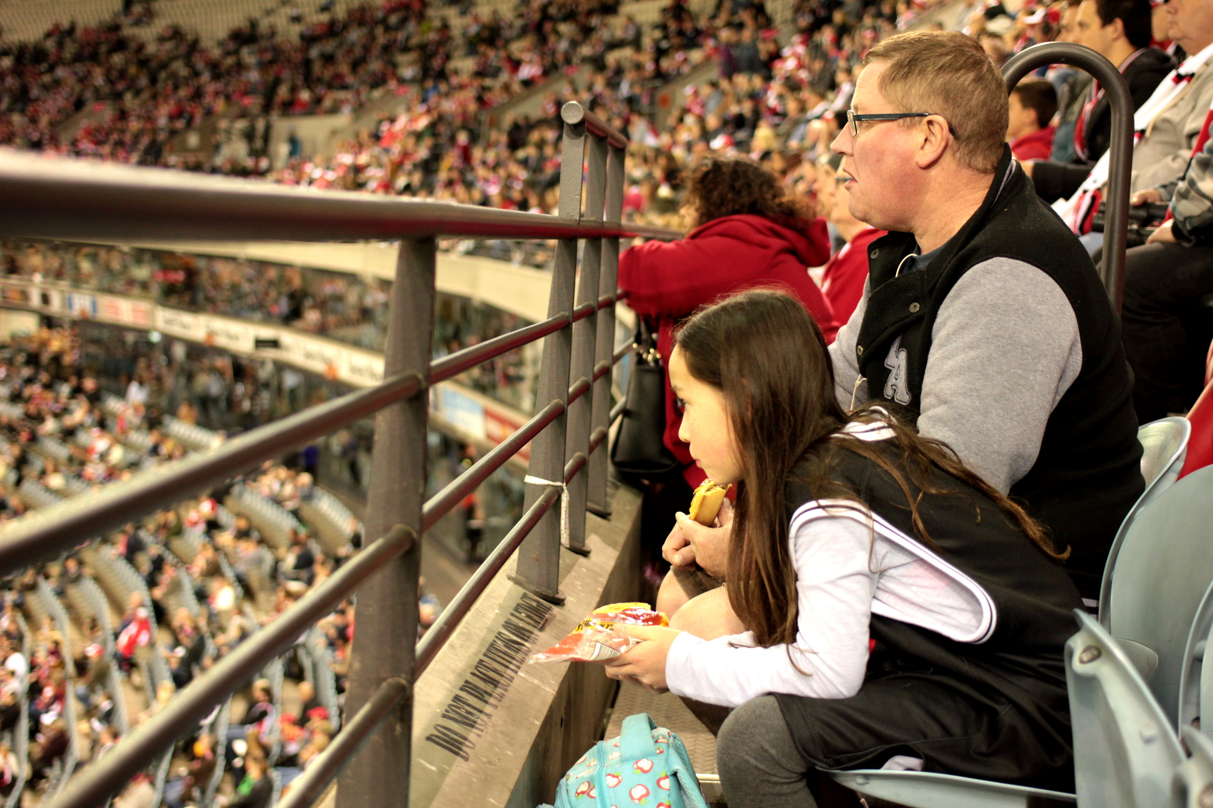 I love that AFL is a family affair.