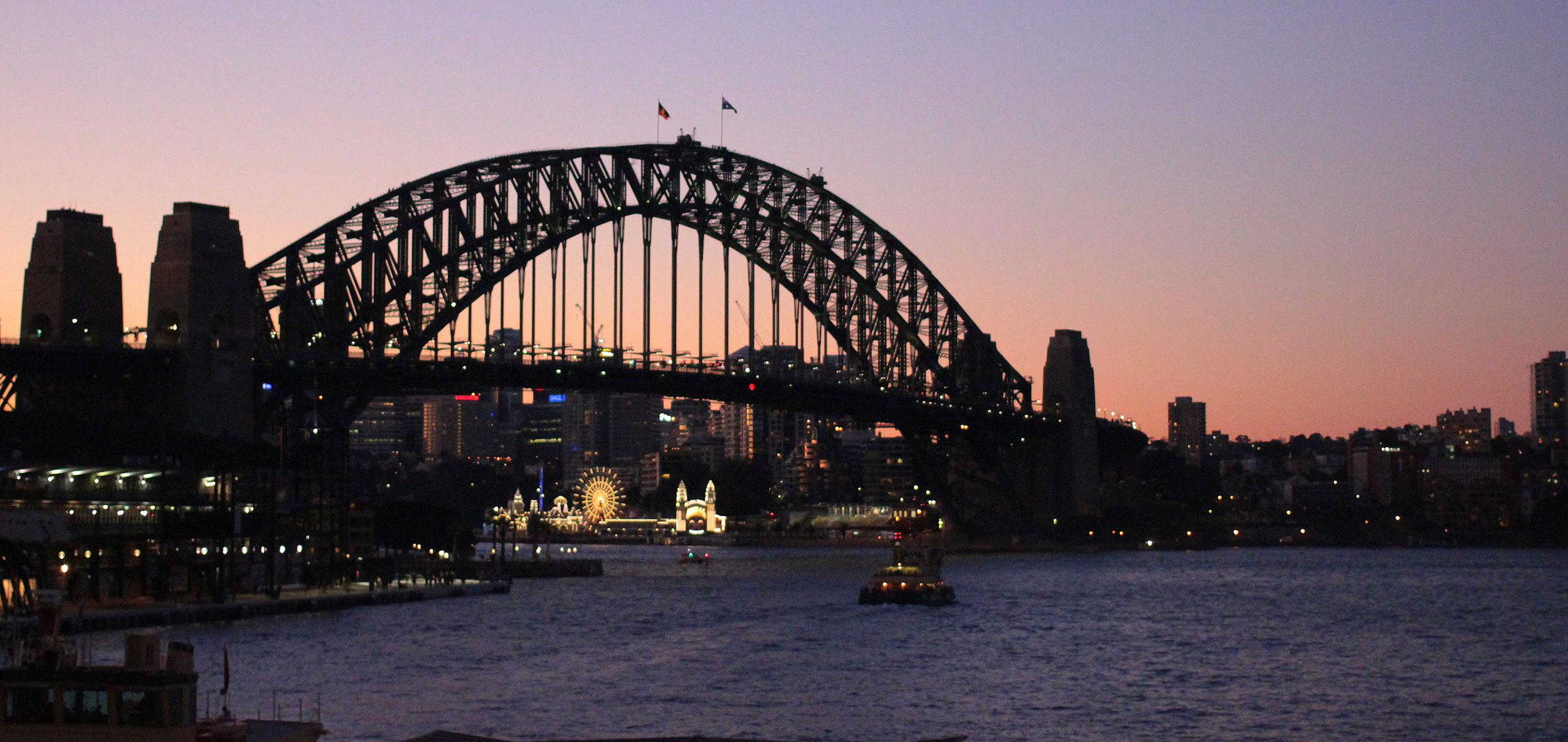 Good night Sydney. See you again soon.