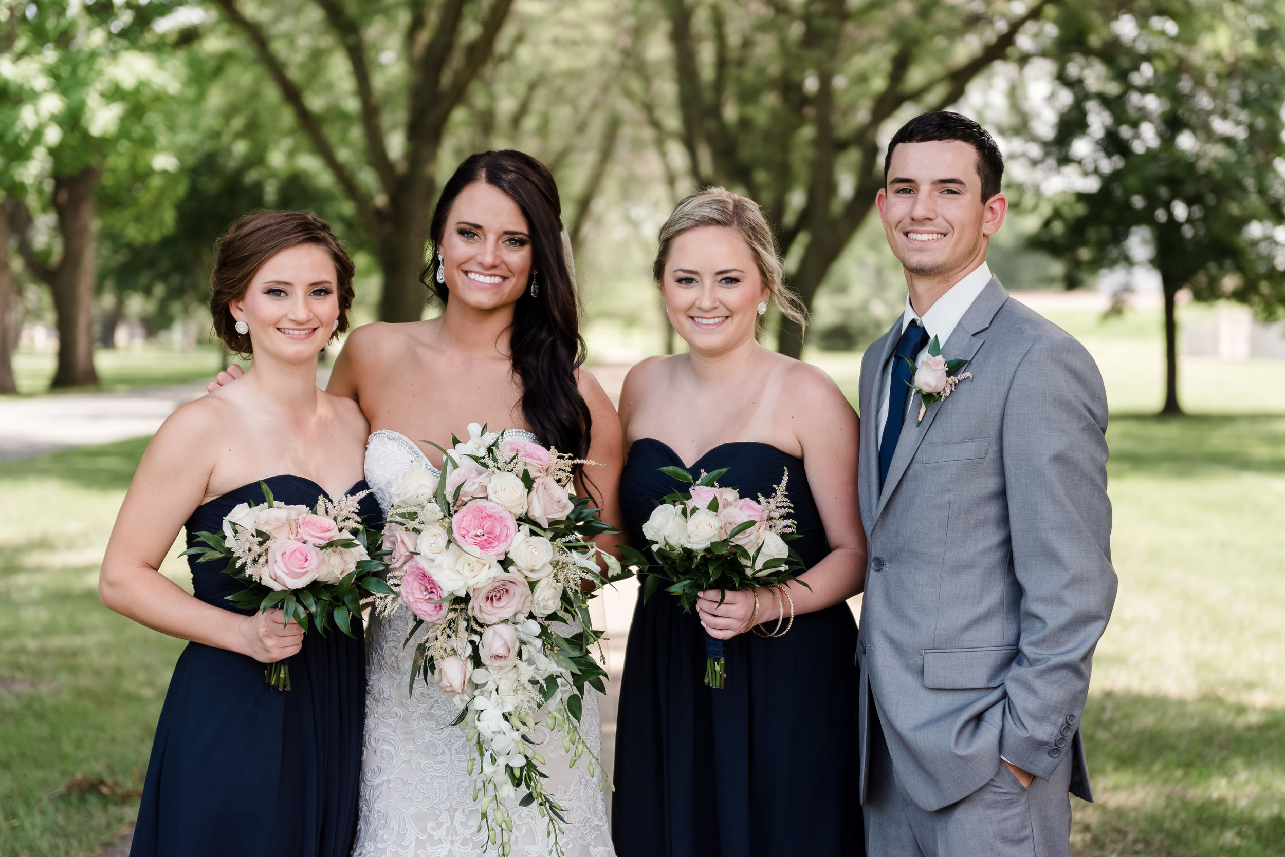 Layce and Brandon - Wedding - Bridal Party and Family - Outdoor Portraits-32.jpg