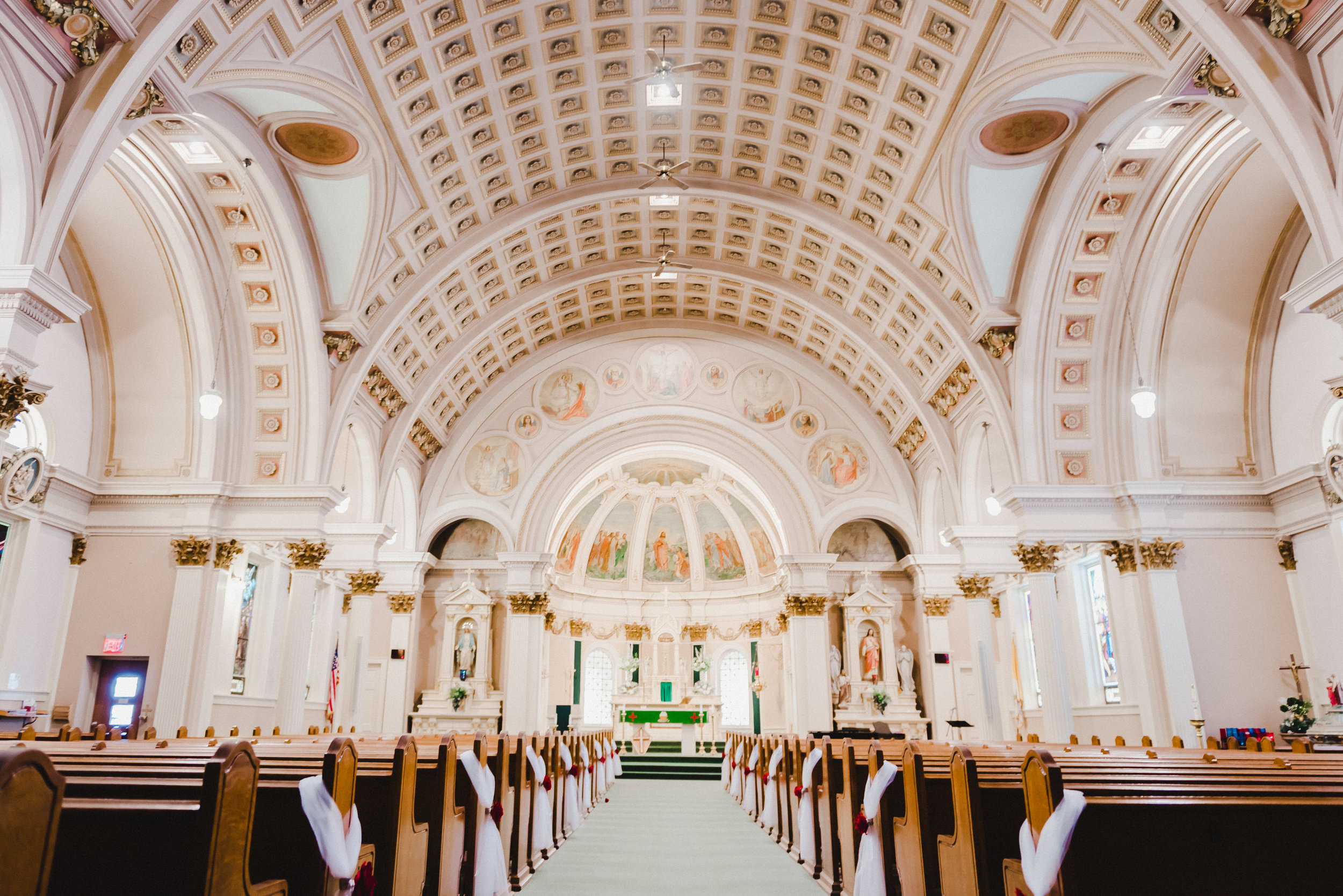 St. Peter's Catholic Church Wedding - Delano, MN