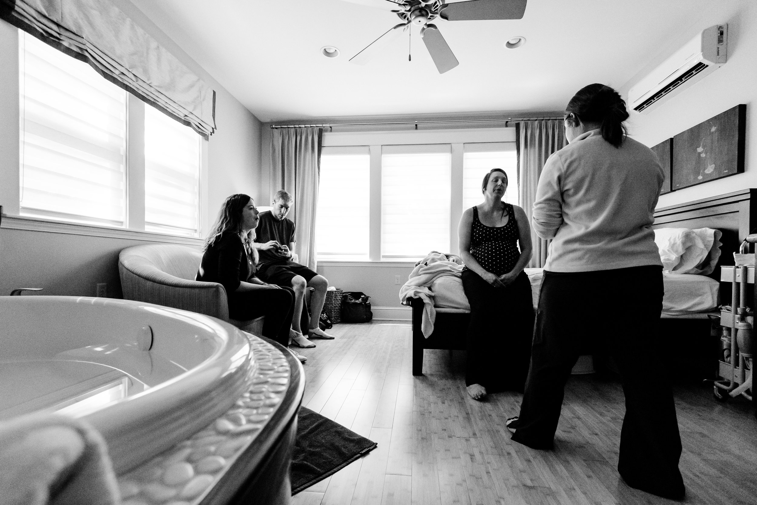 Birth Suite at Health Foundations Birth Center - St. Paul MN Birth Photography