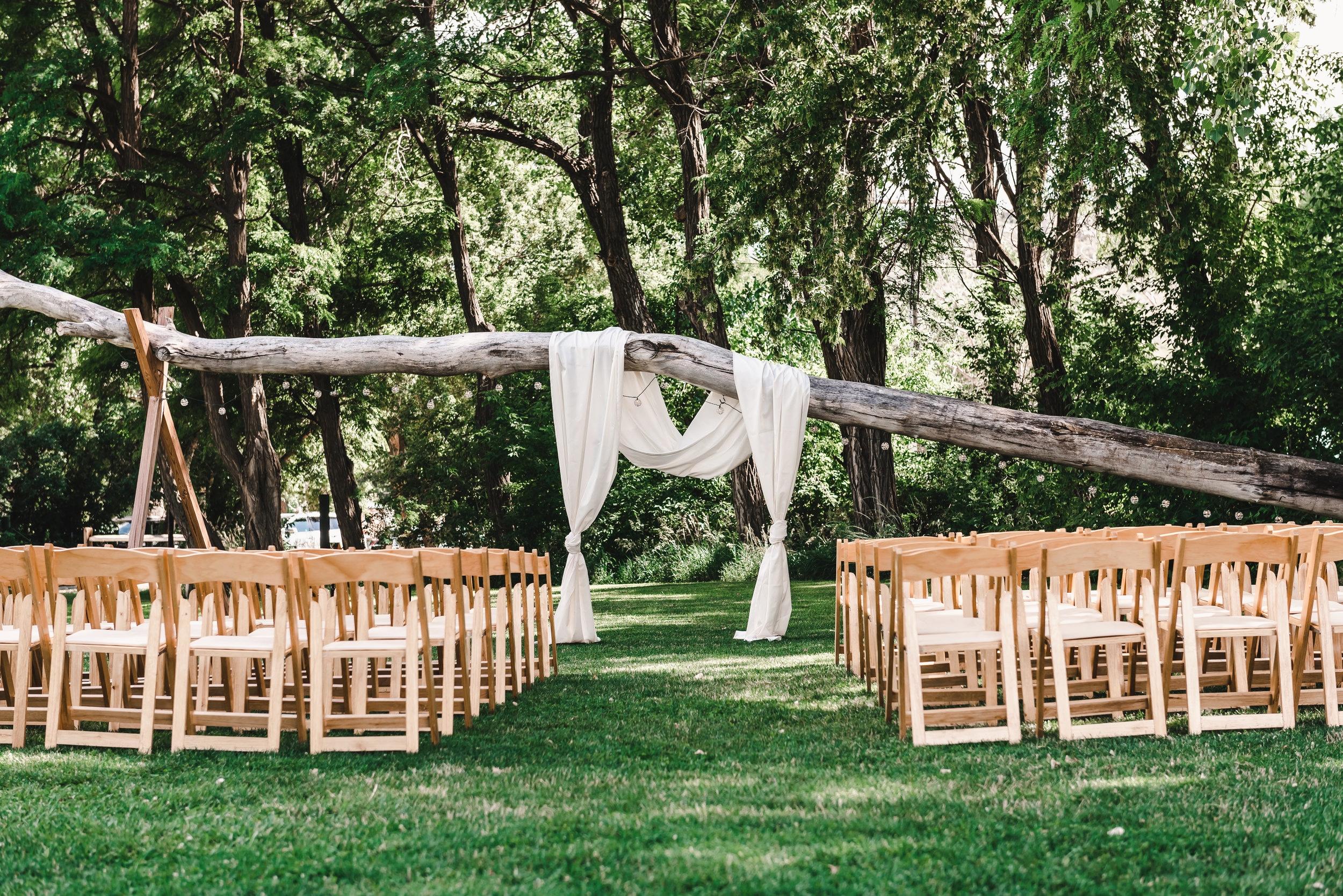 Planning an Outdoor Wedding Ceremony - Lyons Farmette Wedding