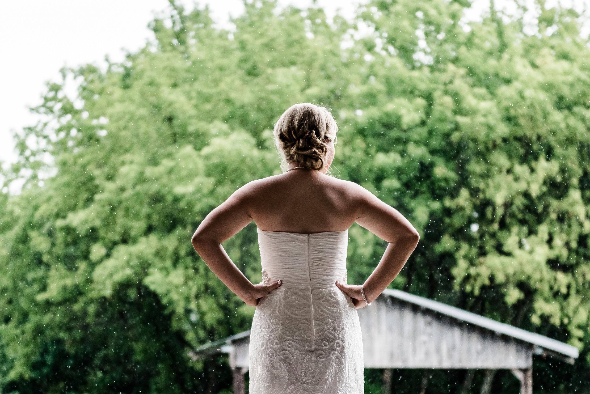 Planning an Outdoor Wedding - Rainy Wedding Day