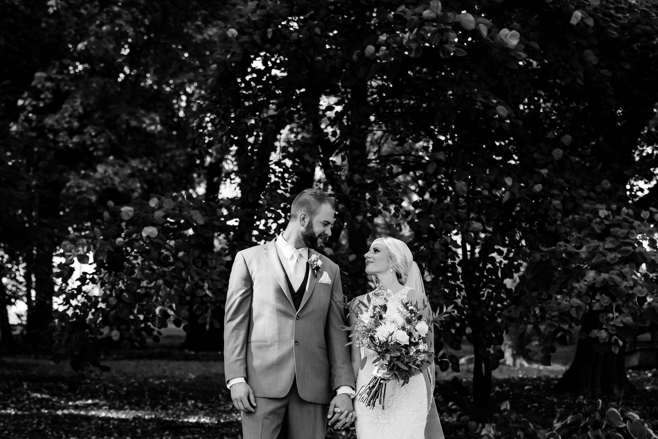 Mikenna and Matt - The Woods Chapel Wedding BW-358.jpg