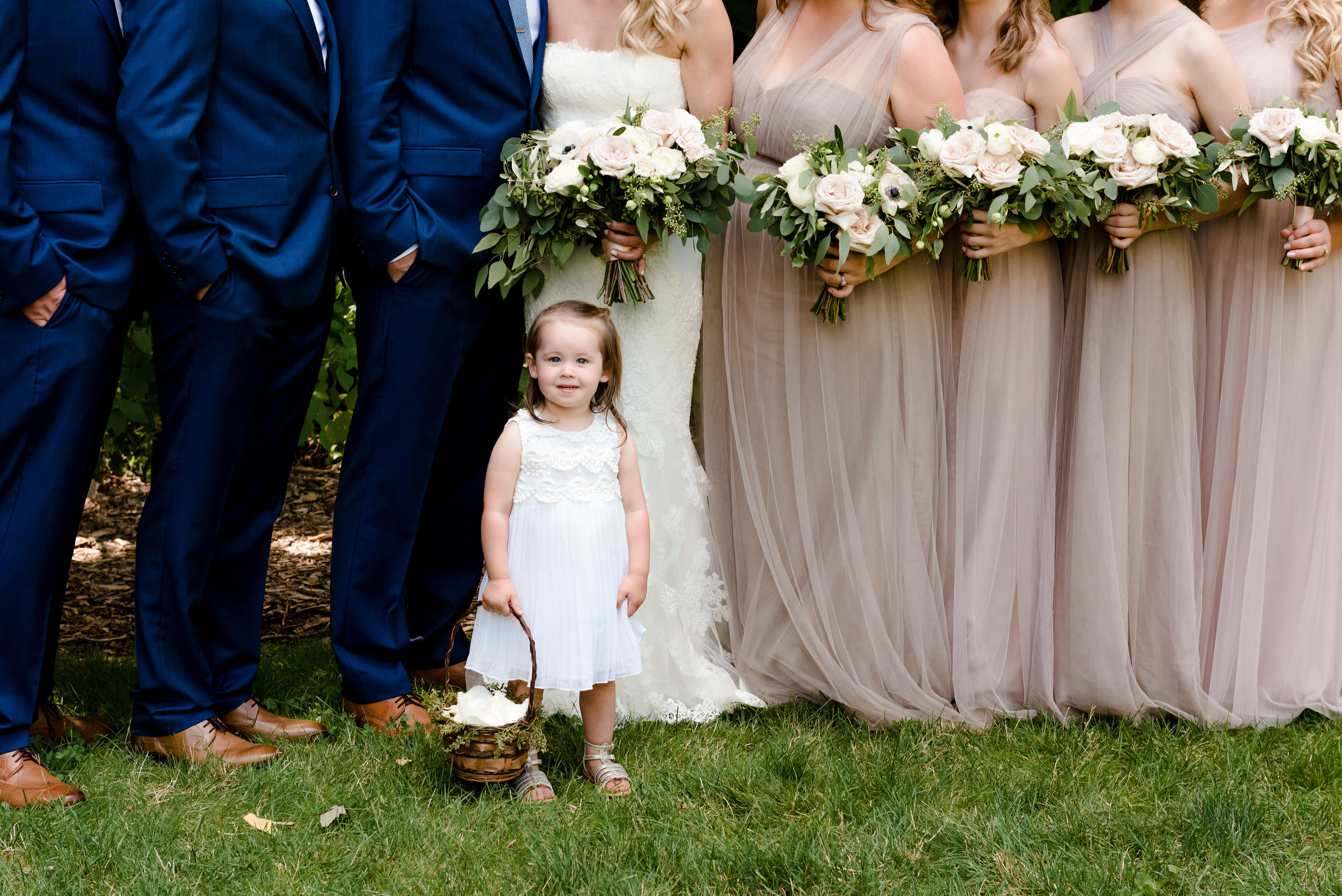 Adorable Flower Girl - Twin Cities Wedding Photographer - Laura Robinson Photography