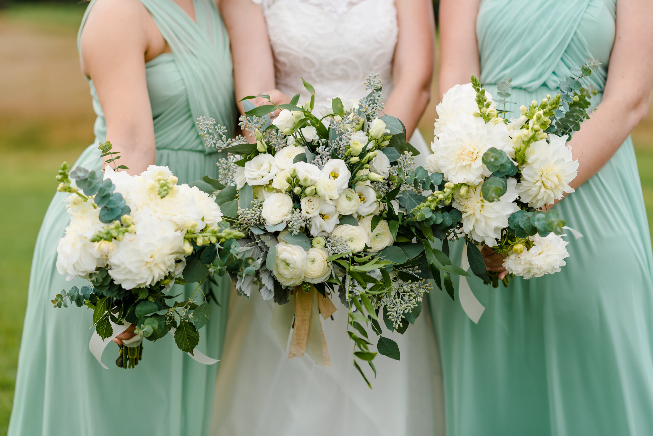 Mint Bridesmaids Dresses