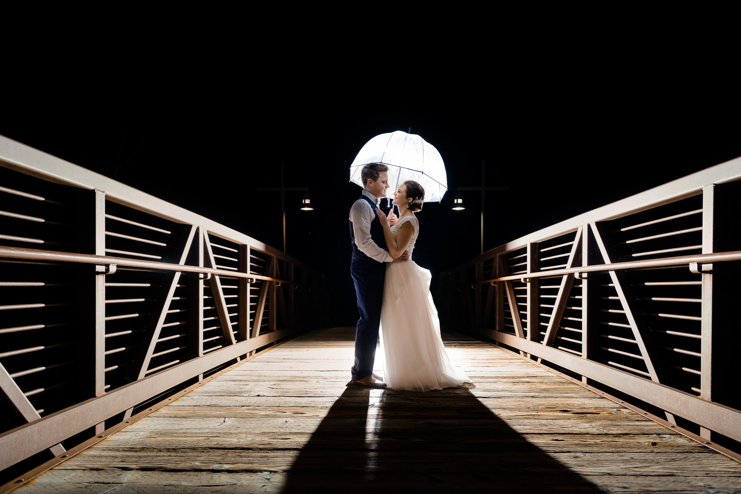 Elm Creek Chalet Wedding Photos - Laura Robinson Photography - Epic Night Shot