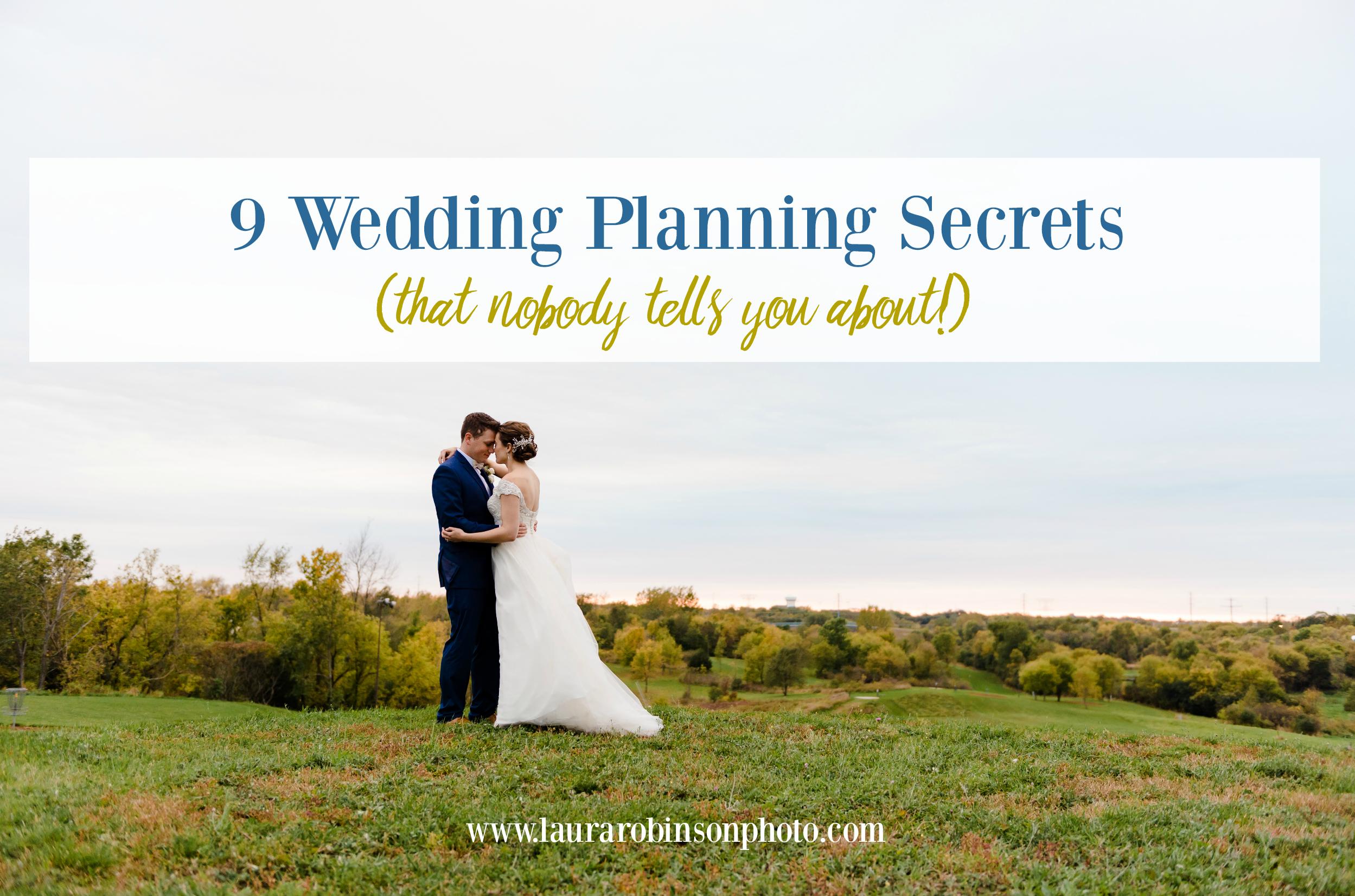 wedding planning secrets