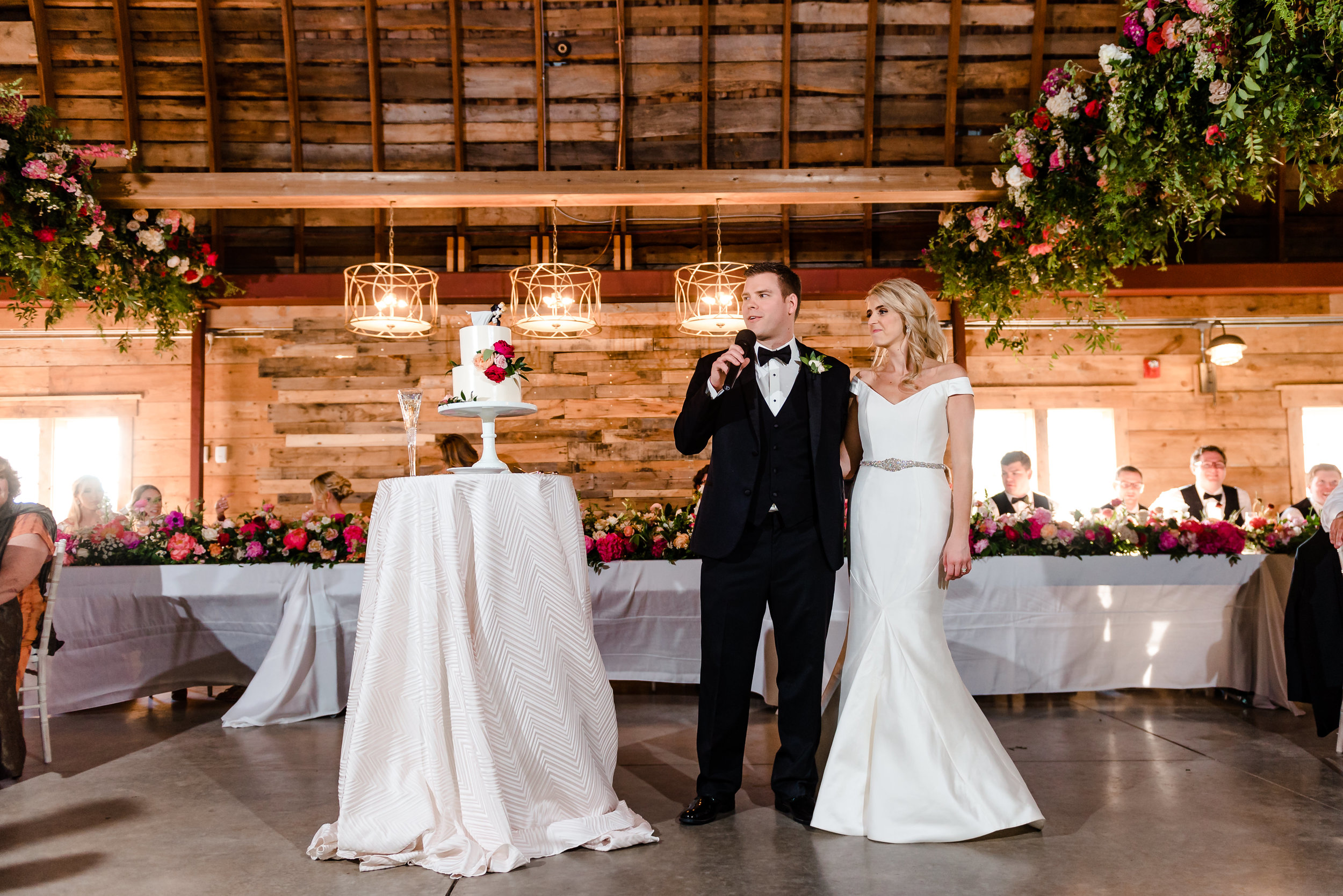 Historic John P Furber Farm Wedding Reception - Cottage Grove, MN Luxury Wedding Photographer