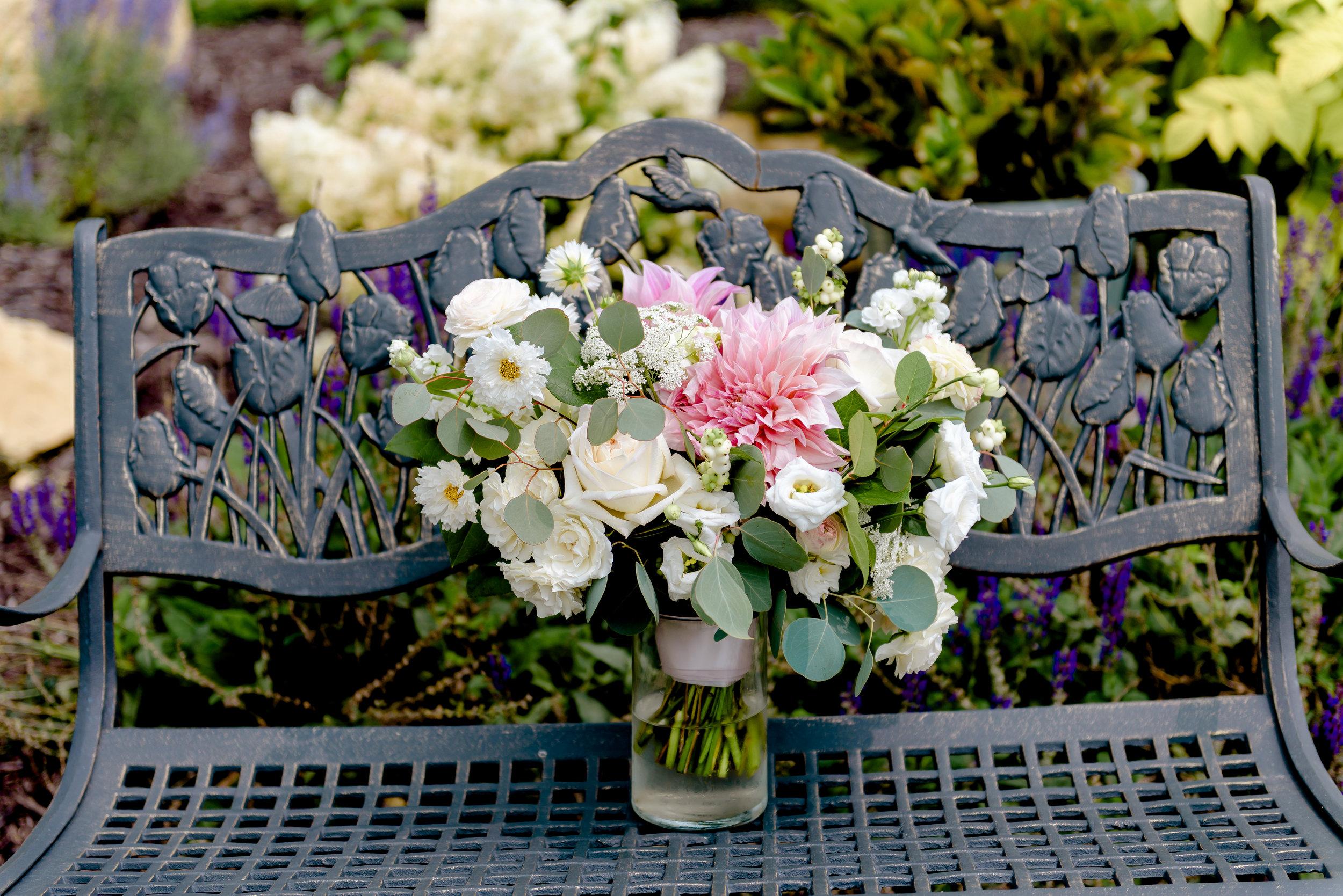 Studio Fleurette Bouquet at Legacy Hill Farm - MN Wedding Photography