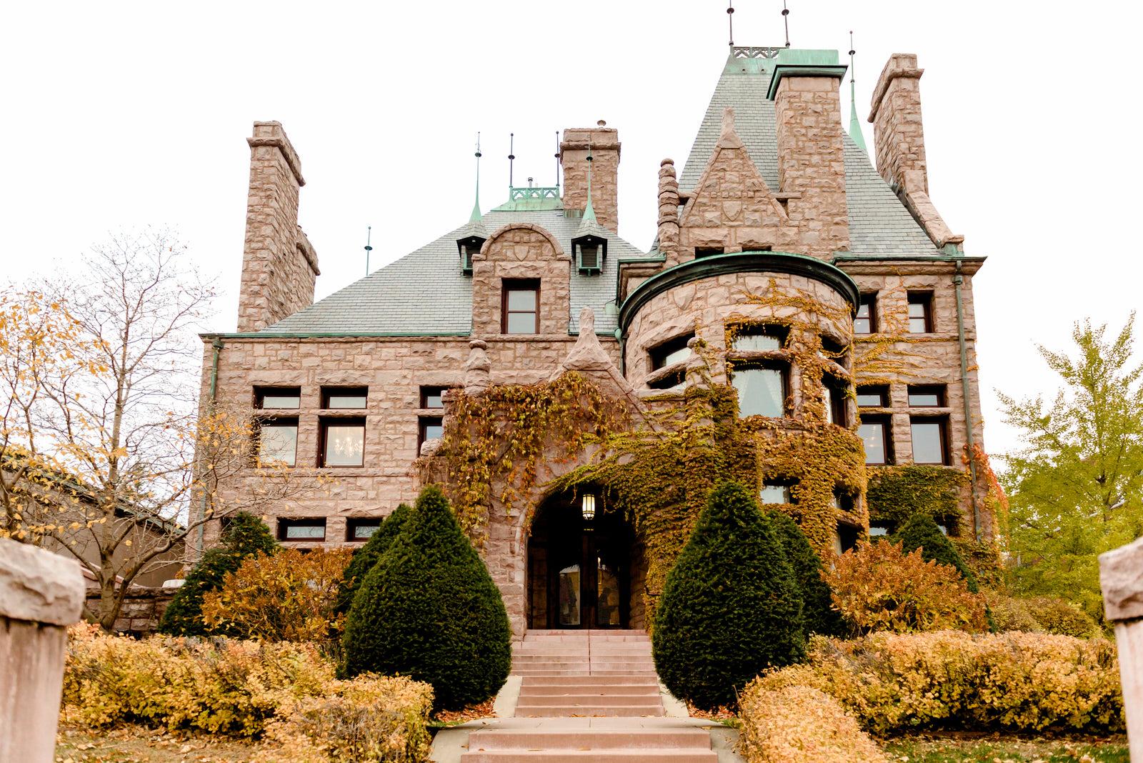 Fall Wedding at Van Dusen Mansion - Minneapolis Wedding Photographer