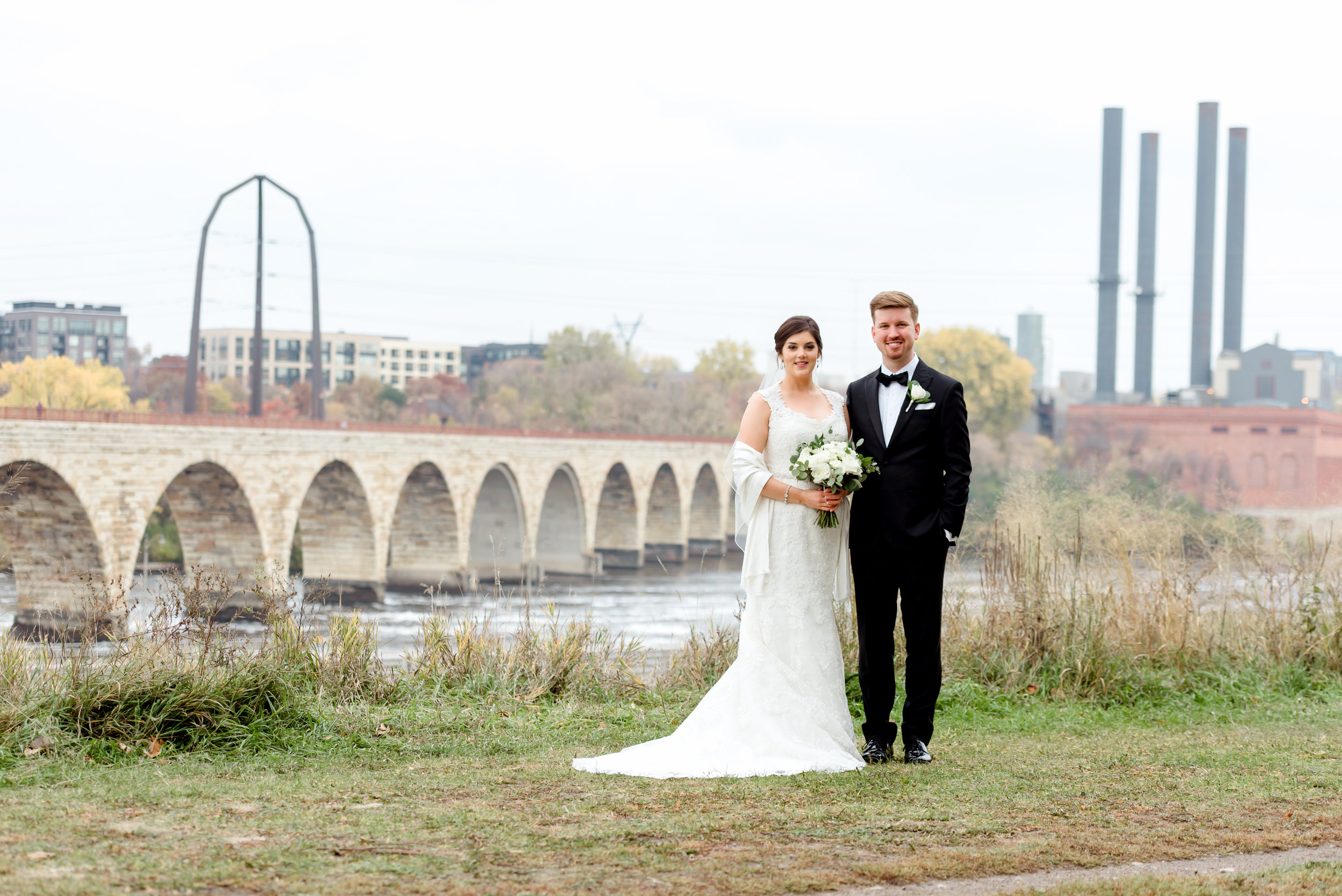 Mill Ruins Park Wedding Photos - Best Places to Take Wedding Photos in Minneapolis - Mpls Wedding Photographer