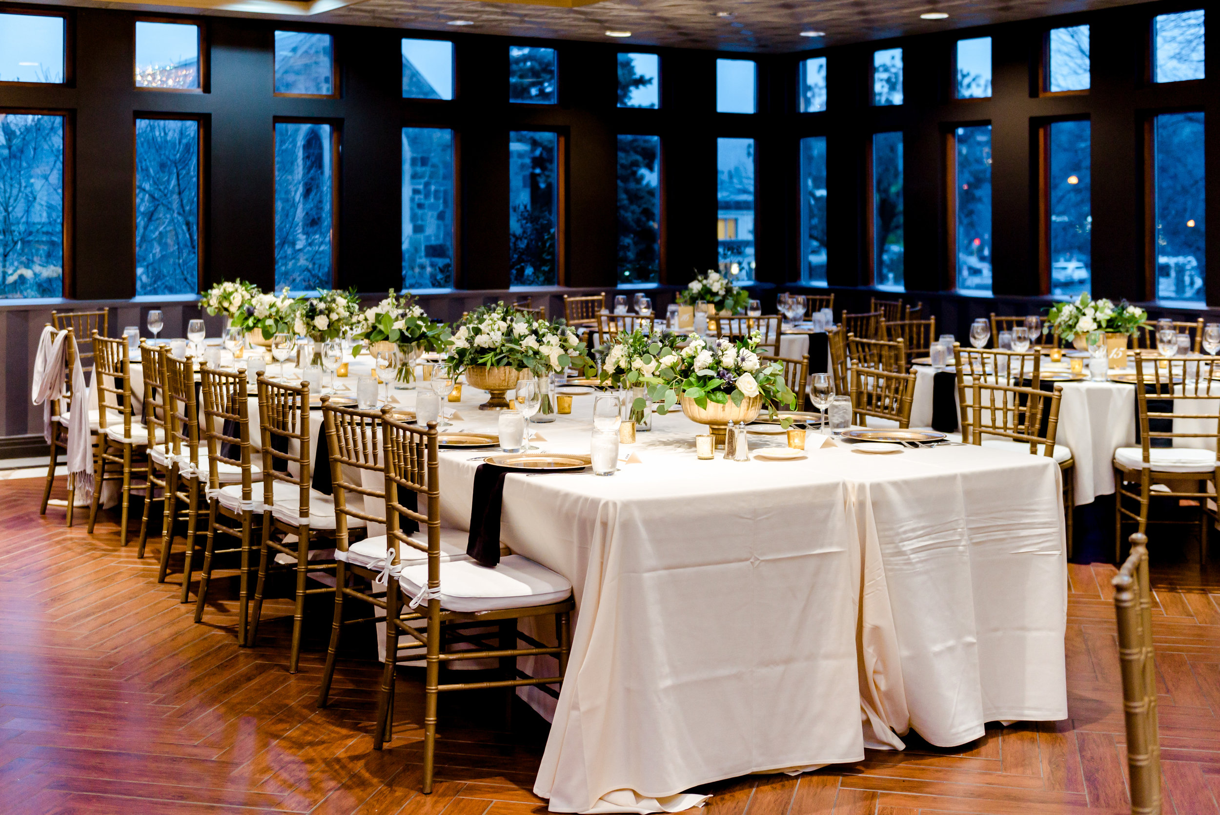Van Dusen Mansion Ballroom Reception - Minneapolis Wedding Photographer
