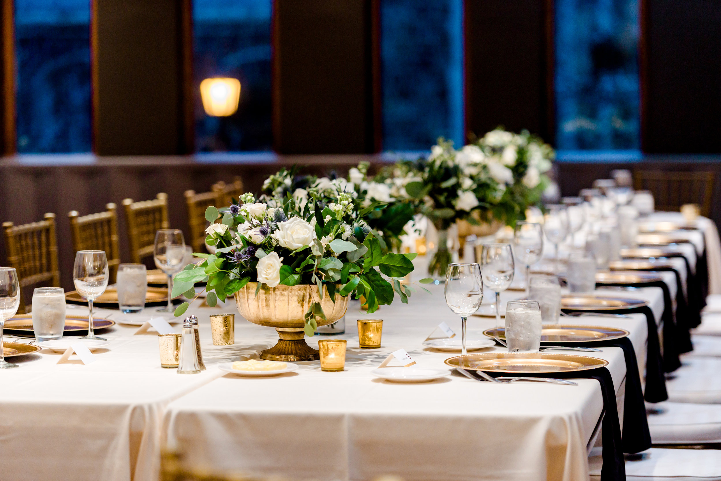 Van Dusen Mansion Wedding - Ballroom Details - Twin Cities Wedding Photography