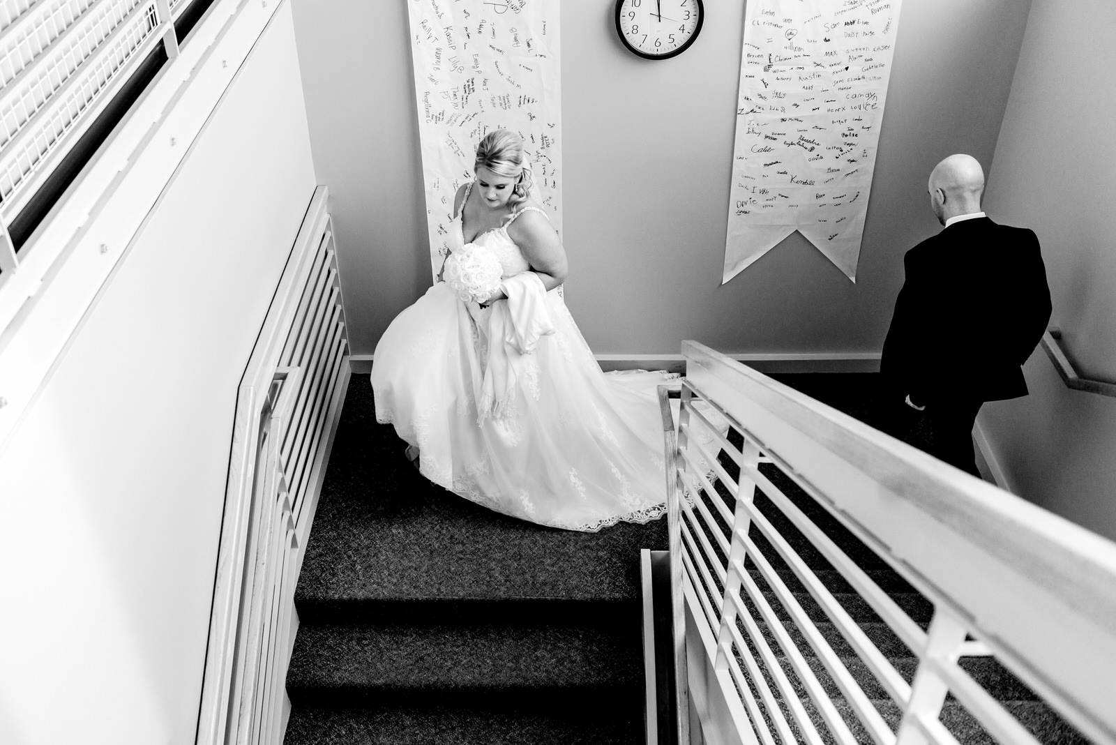 Heather and Taylor - Horse and Hunt Club Wedding -  Highlights BW-25.jpg
