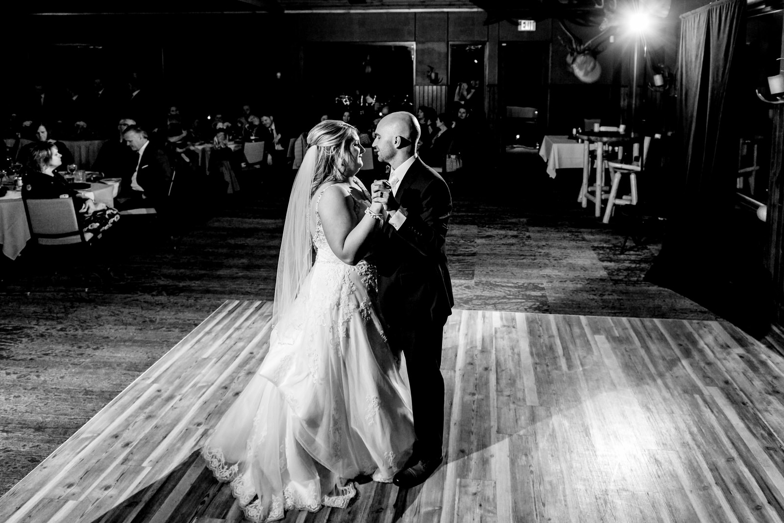 Heather and Taylor - Horse and Hunt Club Wedding -  Highlights BW-177.jpg