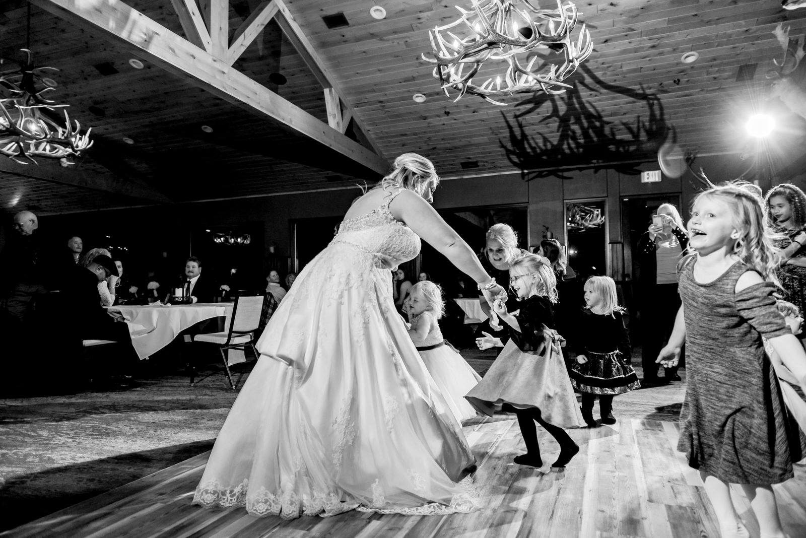 Heather and Taylor - Horse and Hunt Club Wedding -  Highlights BW-202.jpg