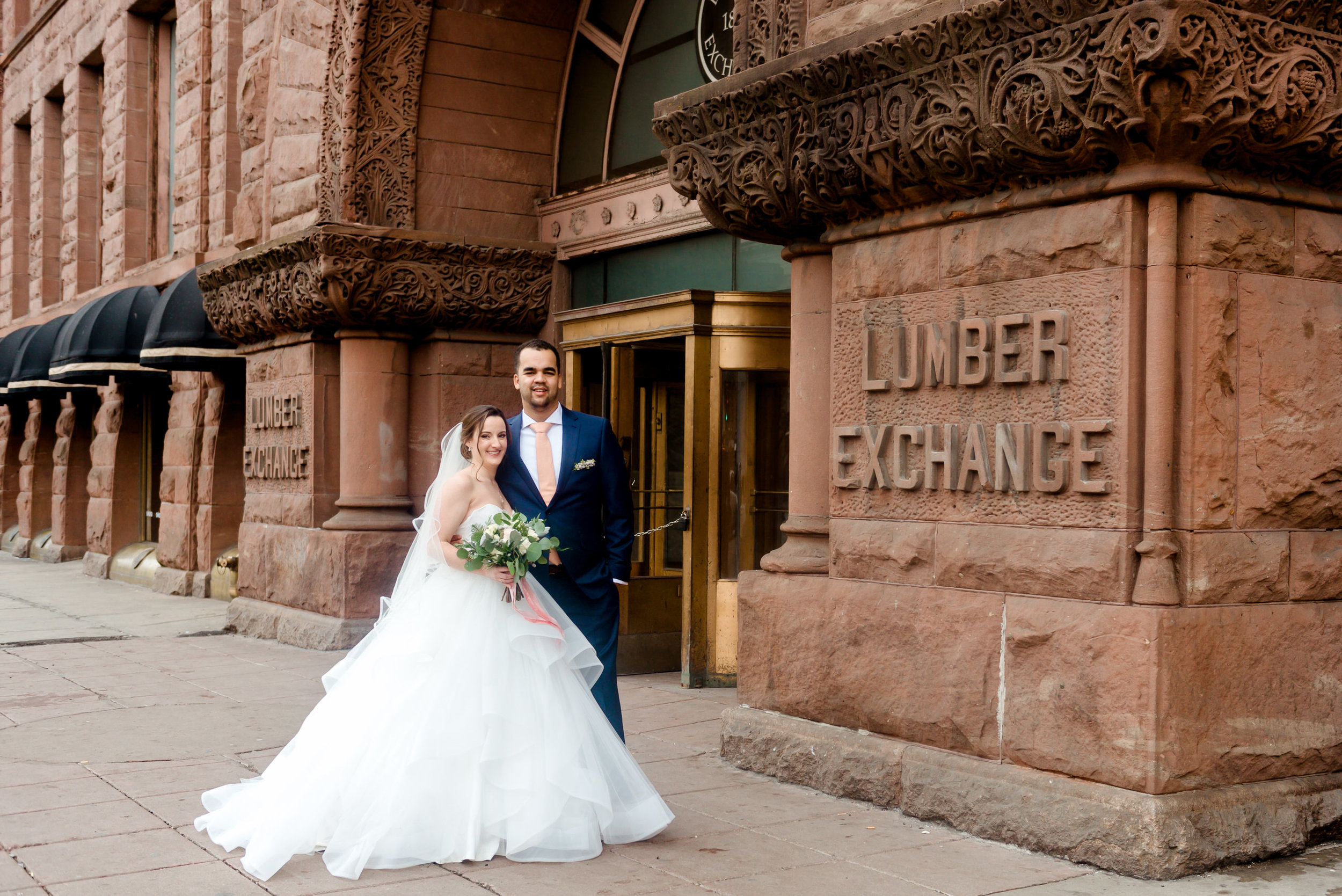 Lumber Exchange Event Center Minneapolis Wedding