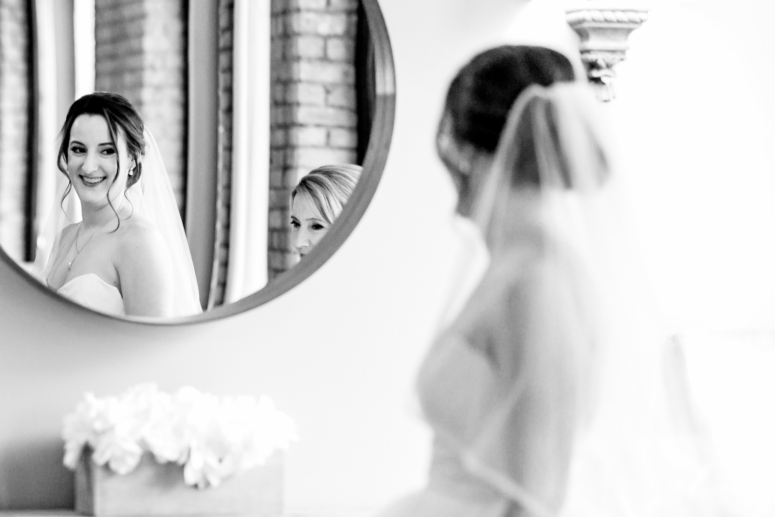Megan and Alec - Lumber Exchange Wedding Sawyer Dylan Room - Highlights BW-55.jpg